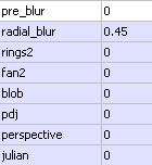 Radial Blur