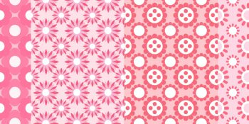 Pink Flower Pattern Pack