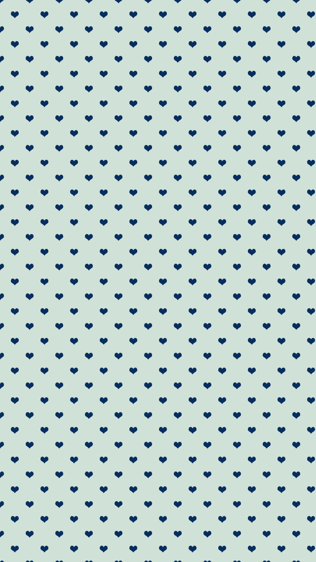 Blue Hearts Wallpaper