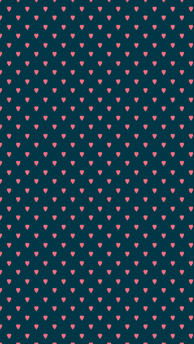 Heart Pattern Phone Wallpapers
