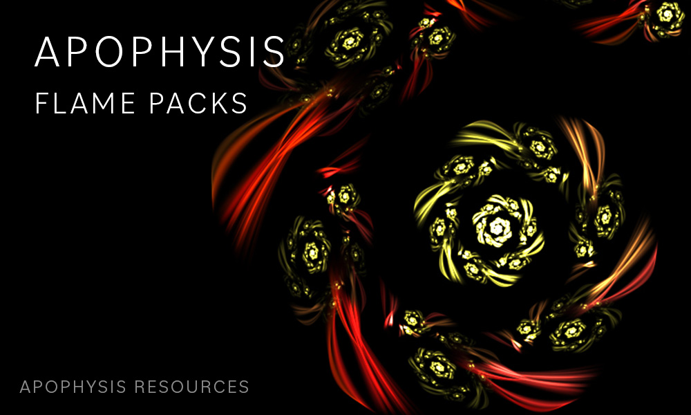 Apophysis Flame Packs