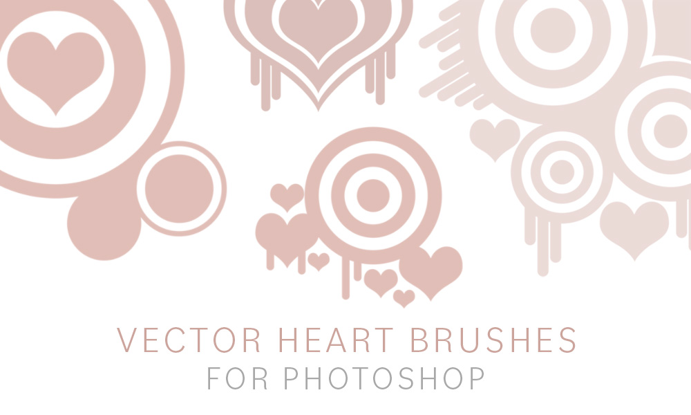 Vector Heart Brushes