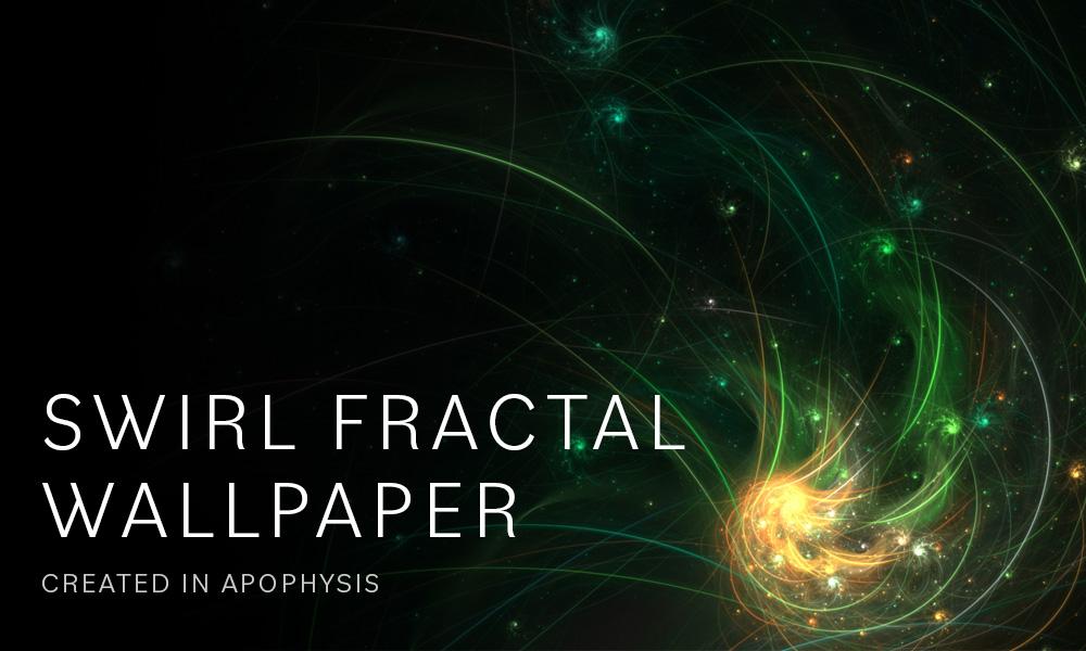 Swirl Fractal Wallpaper