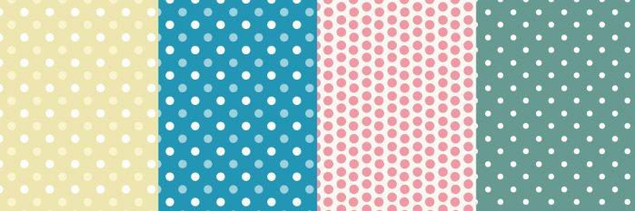 Polka dot patterns