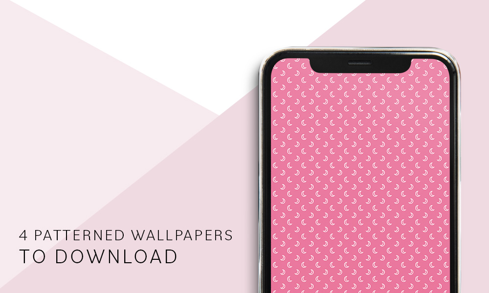 Cute patterned phone wallpapers