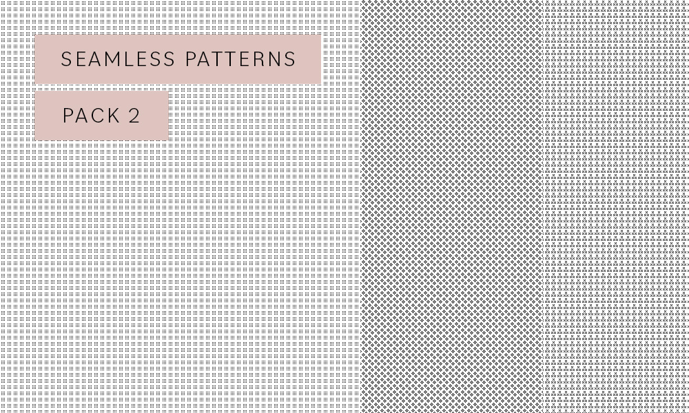 Photoshop seamless patterns pack 2